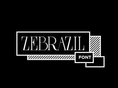Free Zebrazil Font