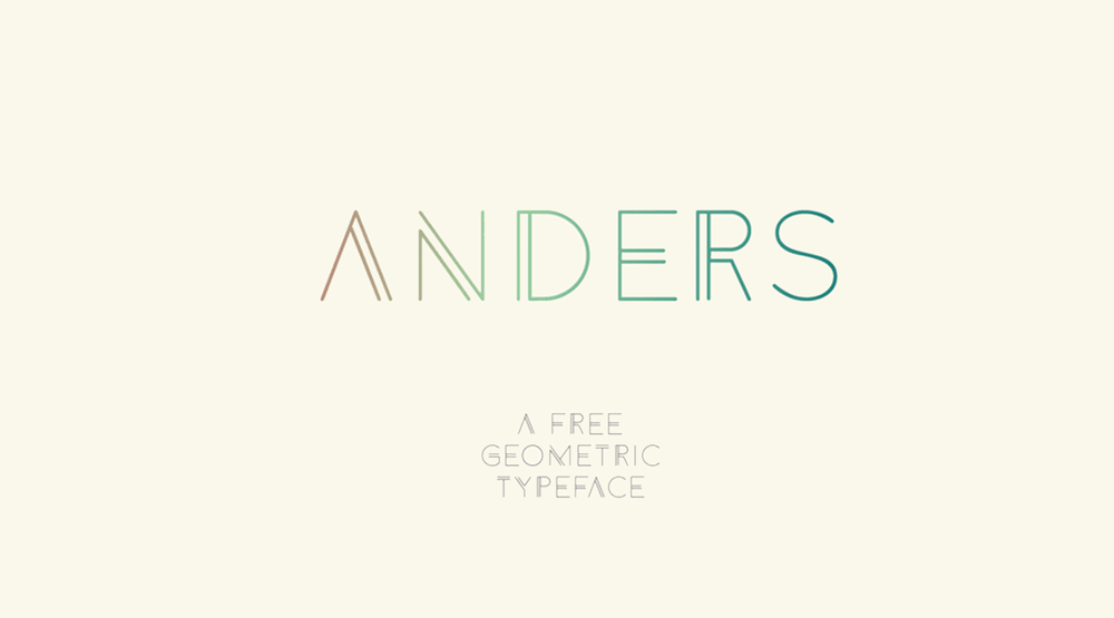 Anders – Free Font