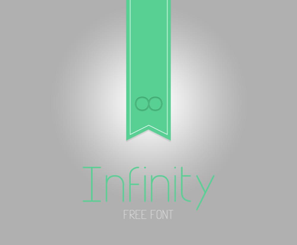 Infinity free font freebie jar infinity free font buycottarizona