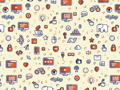 Free Icons Pattern