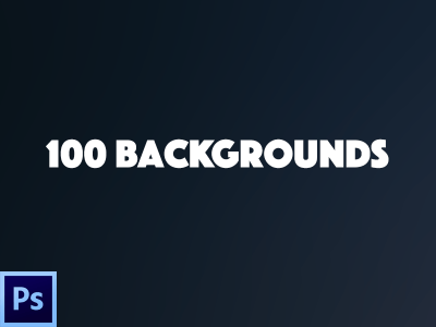 100 Backgrounds Freebie