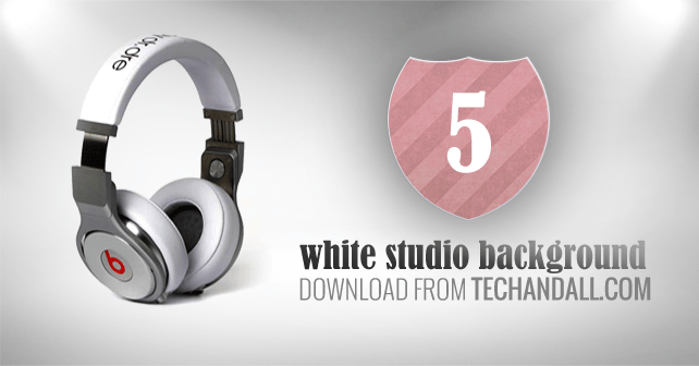 5 White Studio Backgrounds for your Product Display