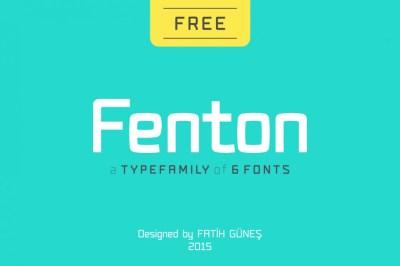 Fenton Typeface Family