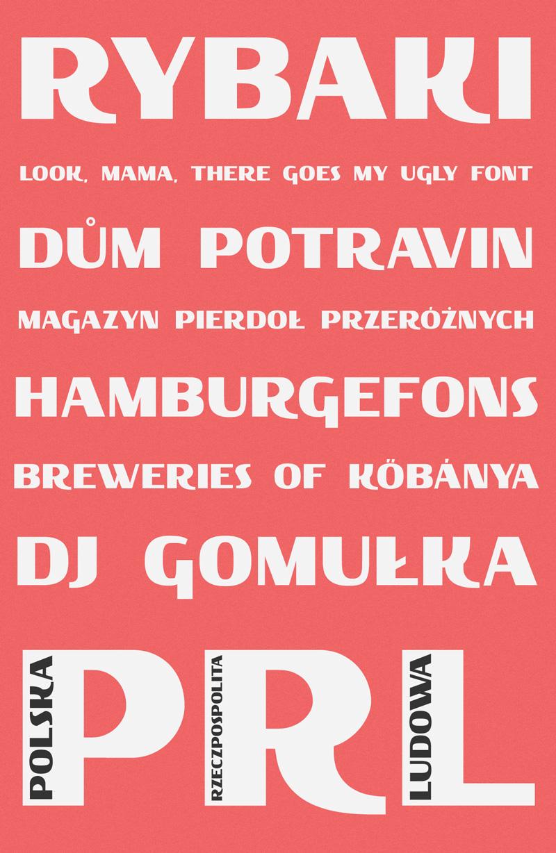 Rybaki Free Font