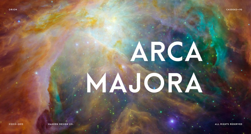 Arca Majora – Free Typeface