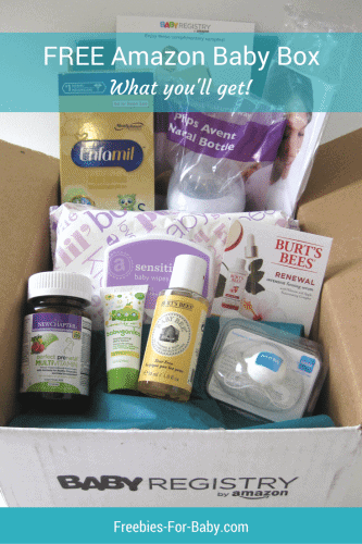 Amazon Baby Registry Welcome Box - What Came Inside
