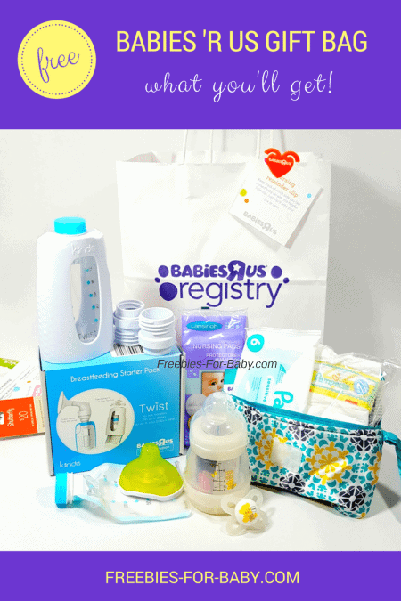 Free Babies R' Us Registry Gift Bag - $60 worth of freebies + over $400 in coupons!