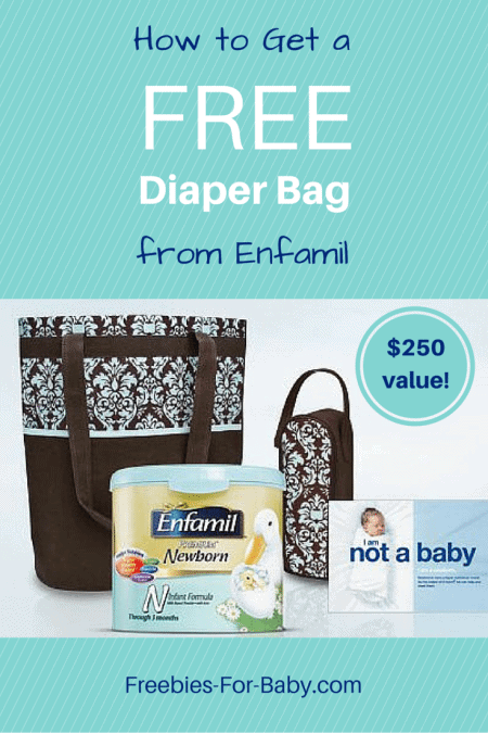 Free Diaper Bag from Enfamil - filled with $250 worth of free baby stuff!