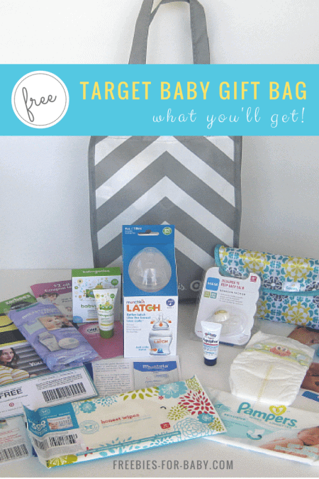 Free 70 target gift registry baby bag look what youll get