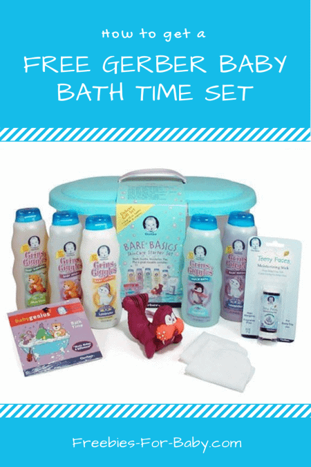 Get a Free Gerber Baby Bath Time Gift Set