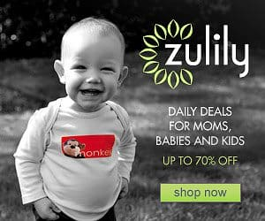 Save 85% off daily deals for Moms and Baby at Zulily