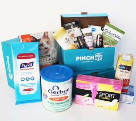 Free Baby Samples from PINCHme