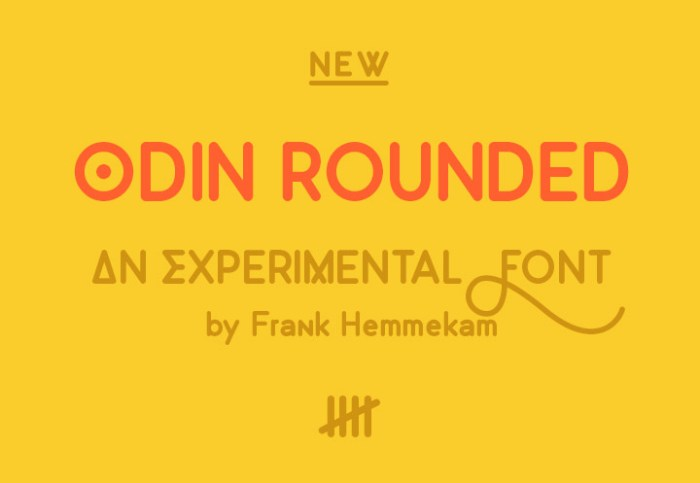 Odin Rounded Free Font Download