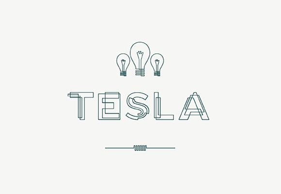 Tesla Free Font Download