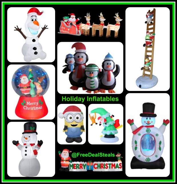 ChristmasInflatablesCollage