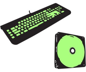 Keyboard and fan