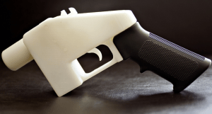 3D printed gun Liberator. Taken from Forbes.