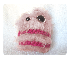 Halloween Pink Candy Floss free cute knitting patterns