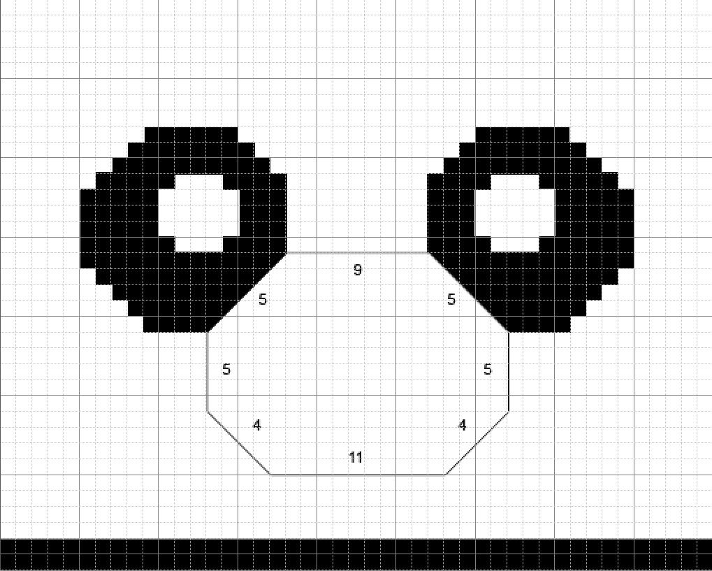 Free Kungfu Panda Inspired Hat Knitting Pattern, with Video Tutorials!