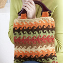 Color Knit Bag