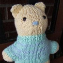 One Seam Teddy Bear