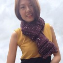 Ruffle Wave Beginner Scarf