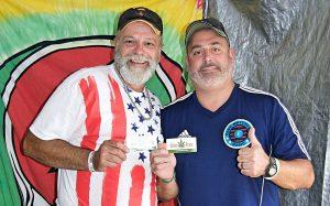 Rick Naya, NH Hempfest Organizer and Joe Lachance