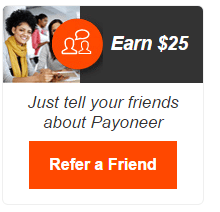 Payoneer Refer a Friend Affiliate Program