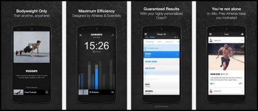 Freeletics app screenshots