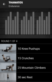 Thanatos - Freeletics Training End