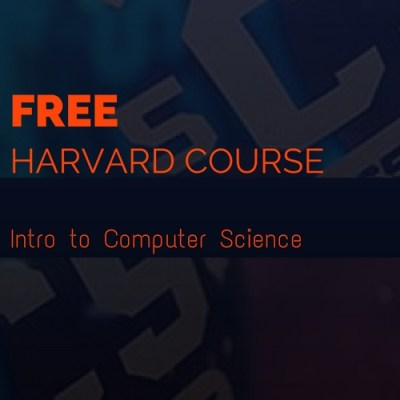 Free Online Computer Programming Course from Harvard University