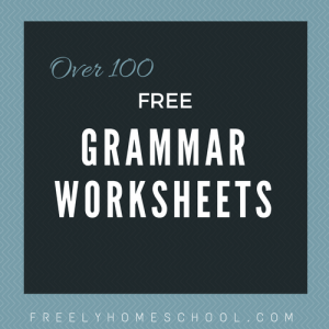 Over 100 free Grammar Worksheets | a Free Grammar eBook