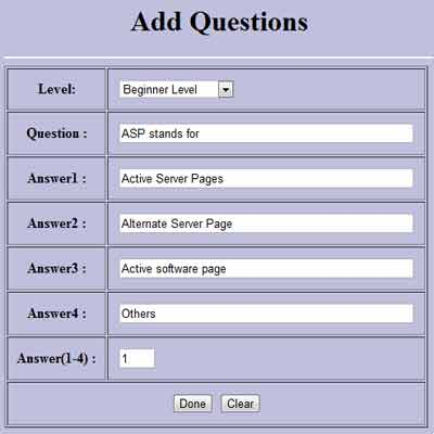 Online Examination System Project Free Student Projects