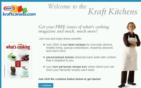 "Kraft Free Subscription to ""What"