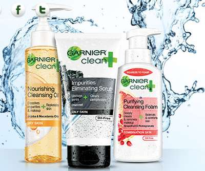 Garnier Clean Skin Care Free Sample - Canada