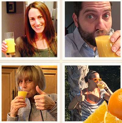 Florida Orange Juice Free Gift Packs to the First 1,500 Participants via Facebook