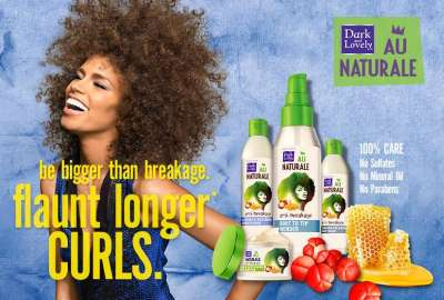 Dark and Lovely Free Au Naturale Anti-Breakage Root To Tip Mender with Guarana Root and Honey Sample - US