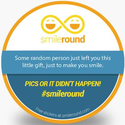 SmileRound Free Stickers