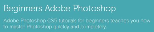 Adobe KnowHow Free 13-Hour Online Photoshop Course for Beginners