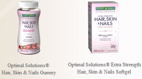 Walmart Free Sample of Nature's Bounty Hair Skin and Nails Gummies - US