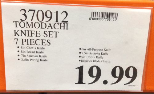 Costco Price Label