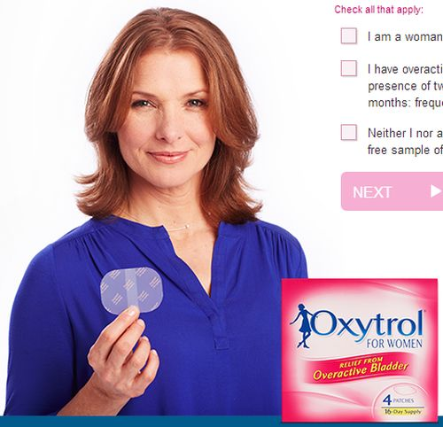 Oxytrol for Women for Overactive Bladder Free Sample - Ages 18+, US