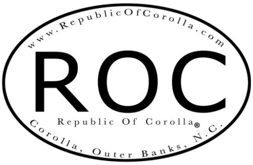 Republic of Corolla Free Sticker - US
