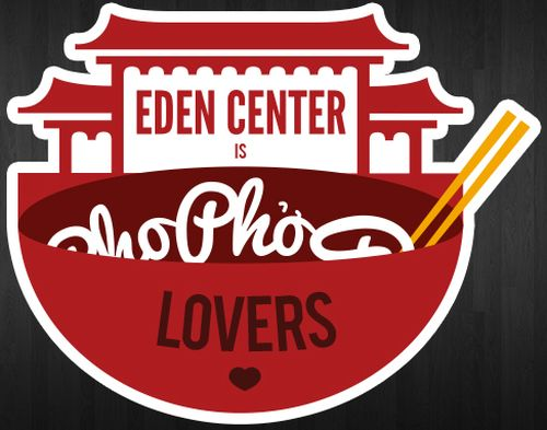 Eden Center Pho Lovers Free Diecut Stickers - US