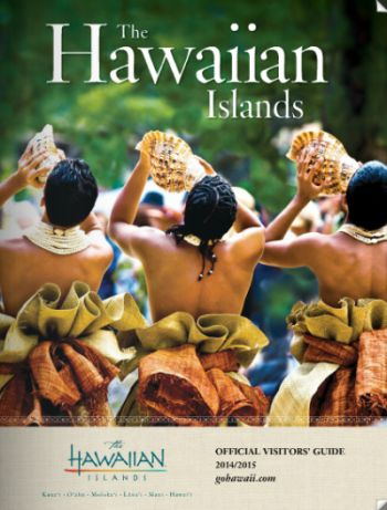 The Hawaiian Islands Official Visitor's Guide and Map