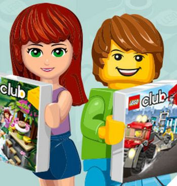 LEGO Club Free LEGO Club Magazine - Worldwide