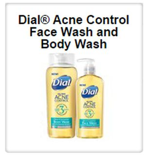 Target Sample Spot Free Dial Acne Control Face and Body Wash Sample - Select US Areas