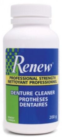 Renew Denture Cleaner Free Sample - Canada