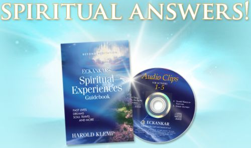 Eckankar Free Spiritual Experiences Book and CD