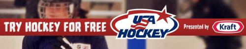 Try Hockey For Free Day for Ages 4 - 9 on November 8, 2014